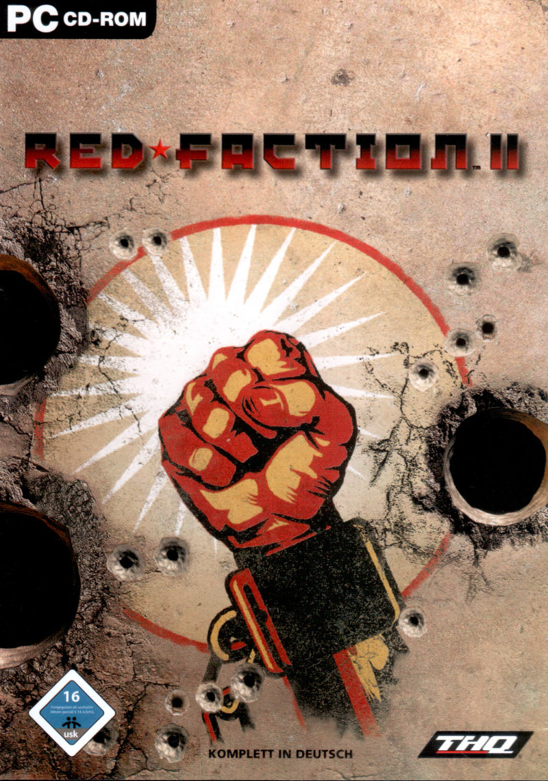 Red Faction II Windows Front Cover