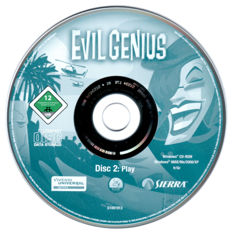 Evil Genius Windows Media CD 2