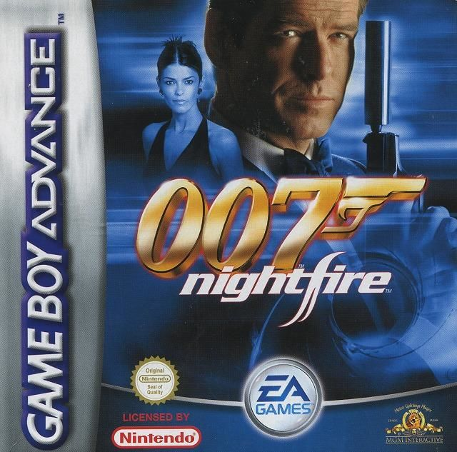 007: Nightfire Game Boy Advance Front Cover