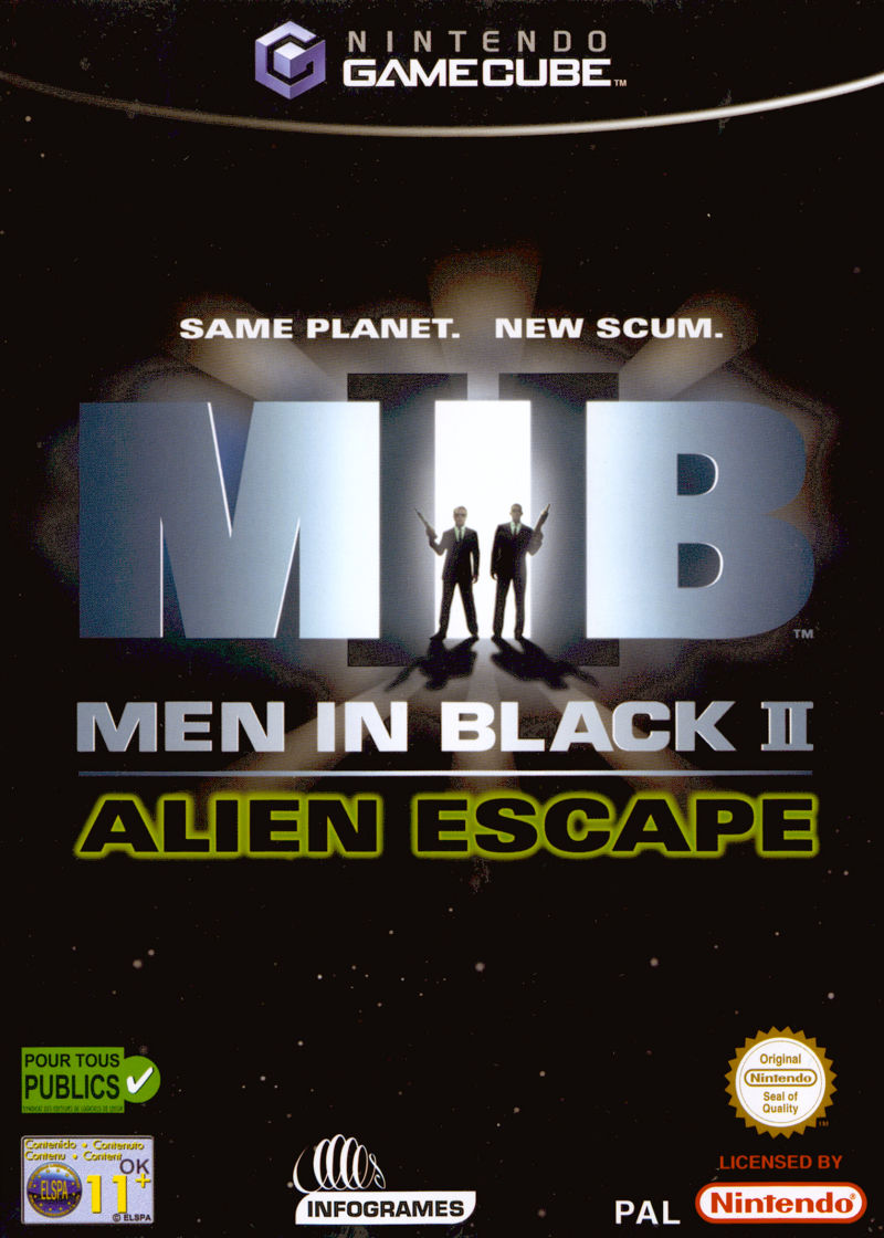 Men in Black II: Alien Escape GameCube Front Cover