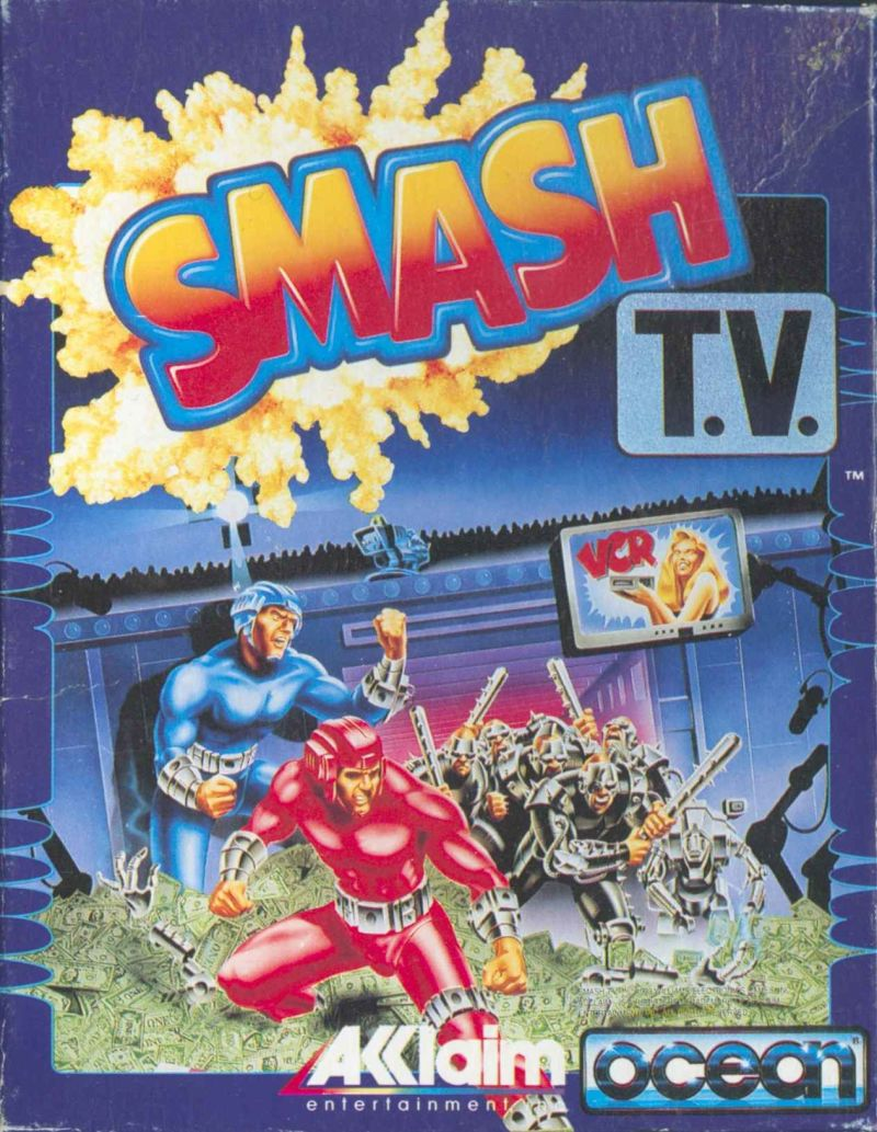 Smash T.V. Commodore 64 Front Cover