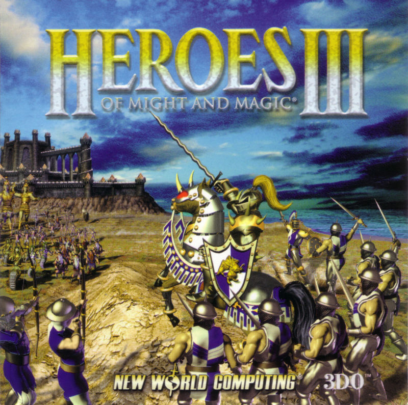 Heroes of Might and Magic III: The Restoration of Erathia Windows Other Jewel Case - Front