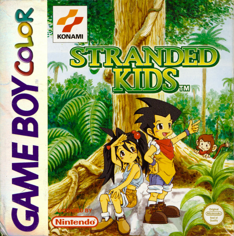 Survival Kids Game Boy Color Front Cover