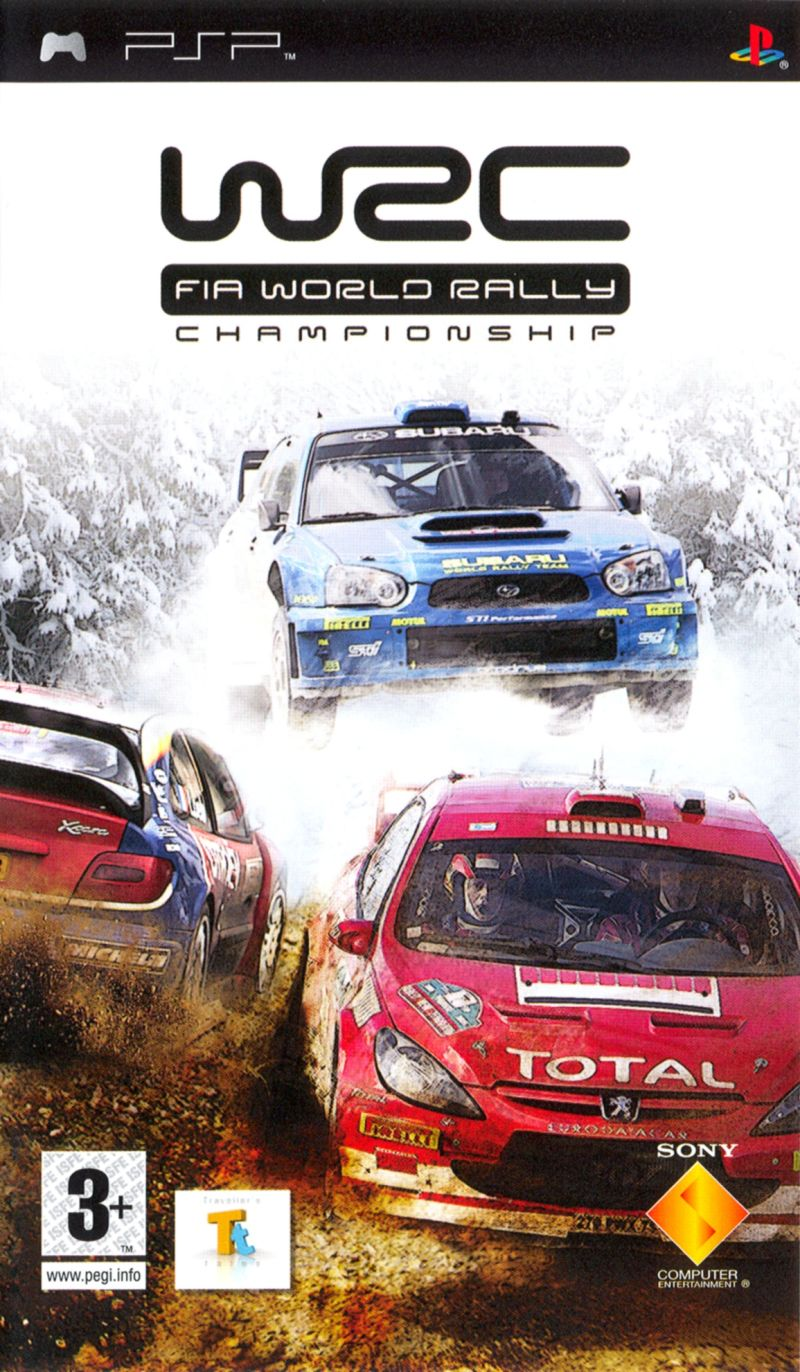 WRC PSP Front Cover