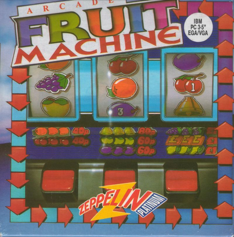 Arcade Fruit Machine DOS Front Cover