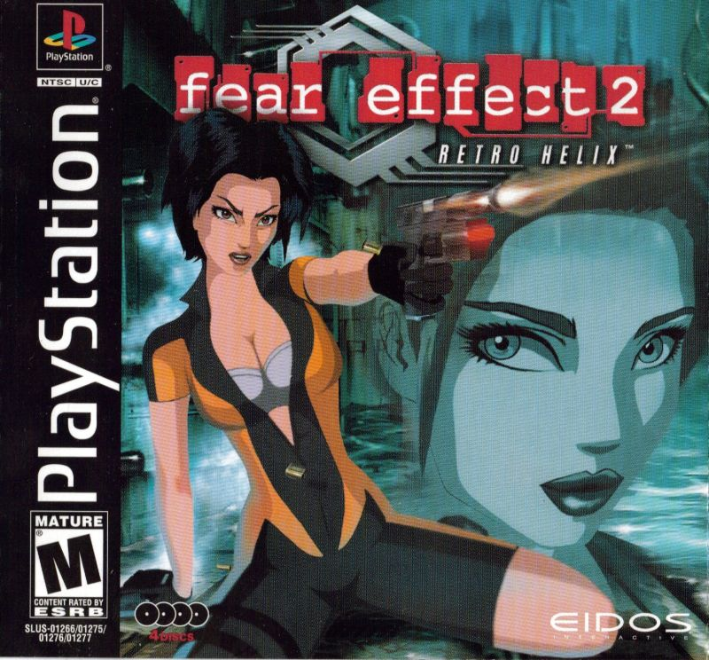Fear Effect 2: Retro Helix PlayStation Front Cover