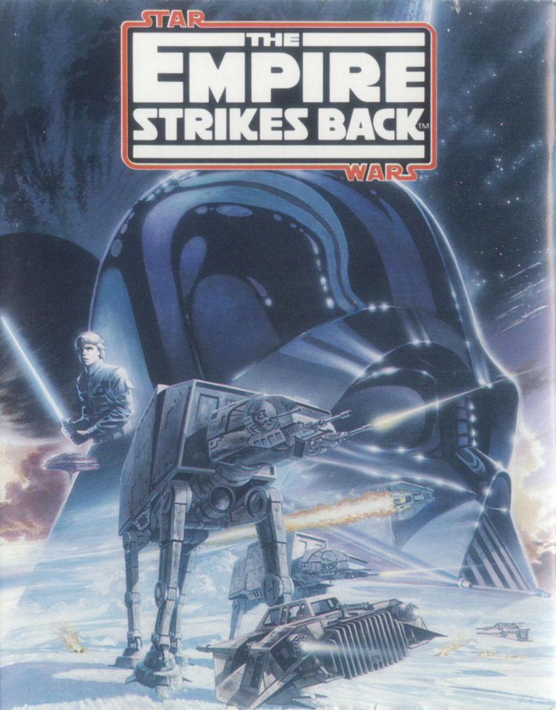 Star Wars: The Empire Strikes Back ZX Spectrum Front Cover