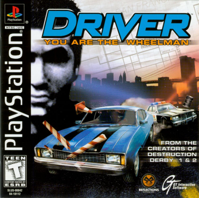 Driver PlayStation Front Cover