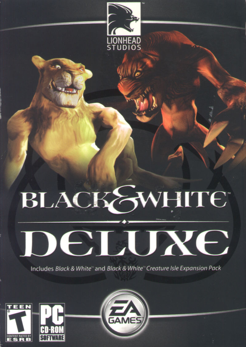 Black & White Deluxe Windows Front Cover