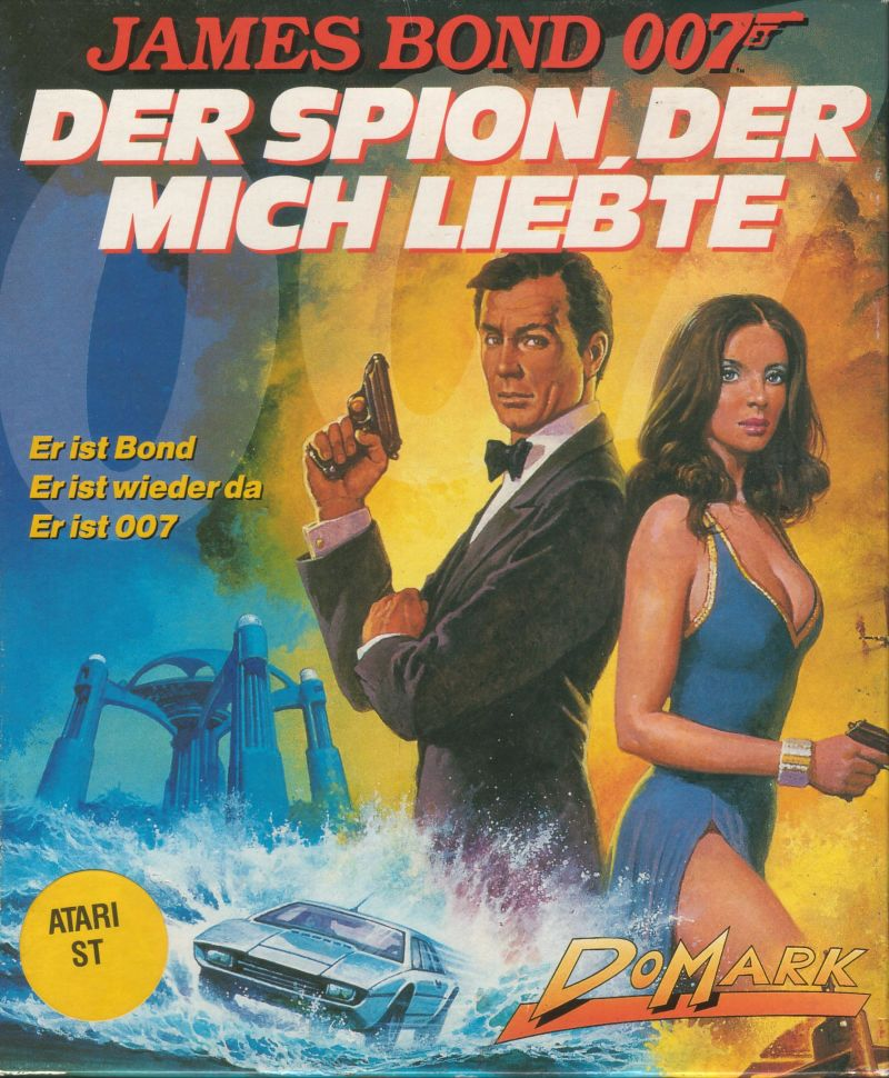 The Spy Who Loved Me Atari ST Front Cover