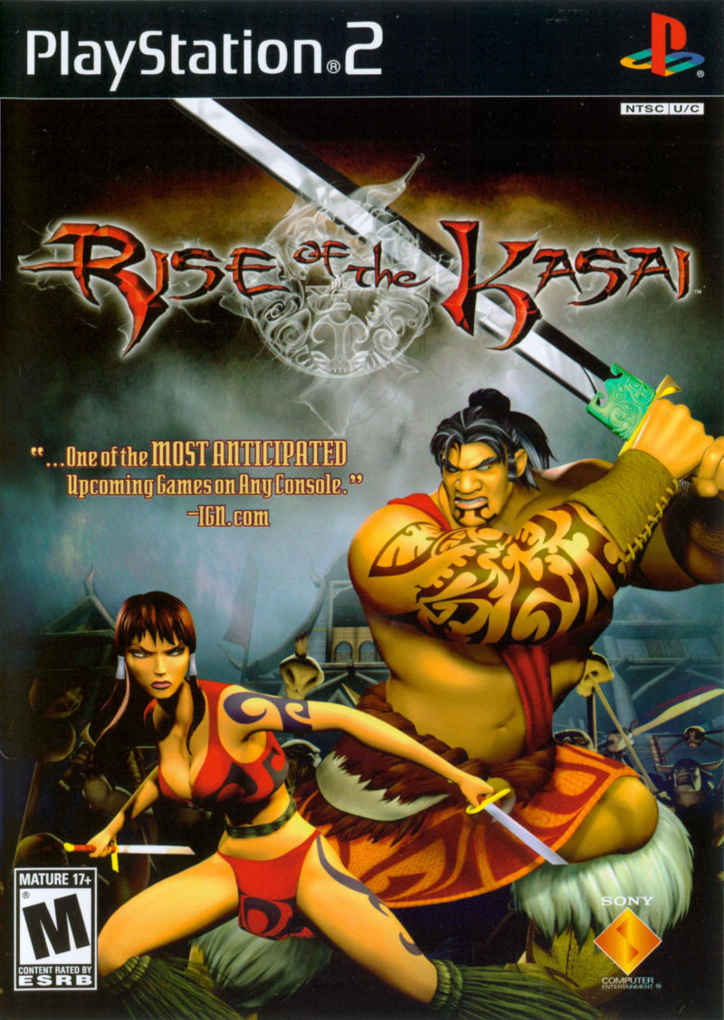 Rise of the Kasai PlayStation 2 Front Cover