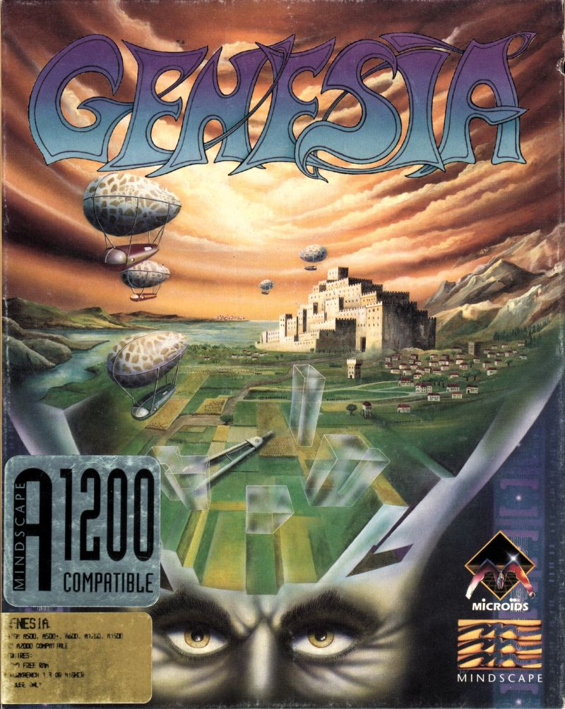 Ultimate Domain Amiga Front Cover