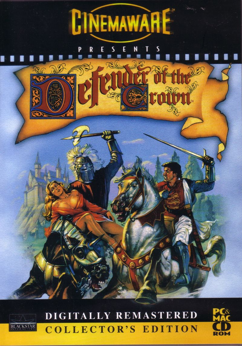 Defender of the Crown: Digitally Remastered Collector's Edition Macintosh Front Cover