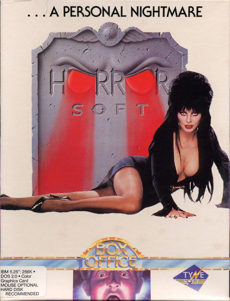 ...A Personal Nightmare DOS Front Cover