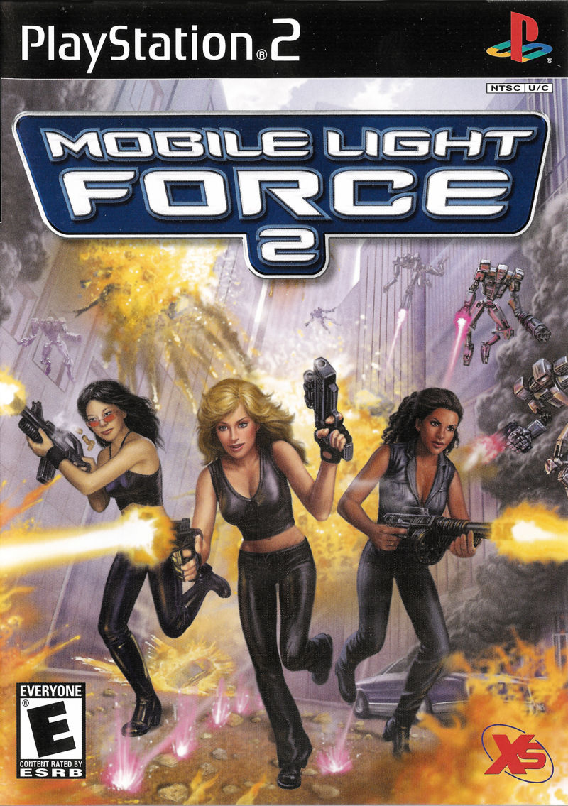 Mobile Light Force 2 PlayStation 2 Front Cover