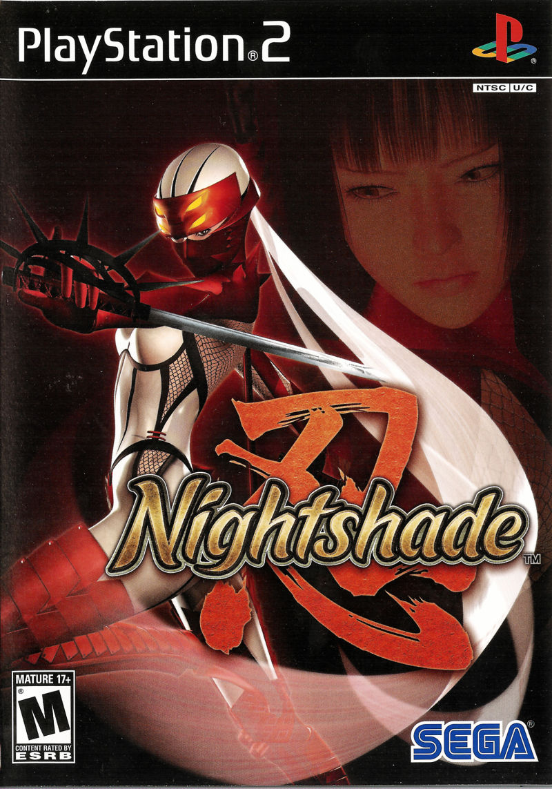 Nightshade PlayStation 2 Front Cover