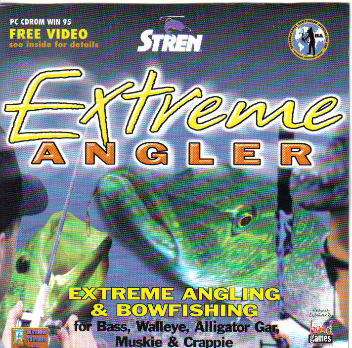 Extreme Angler Windows Front Cover