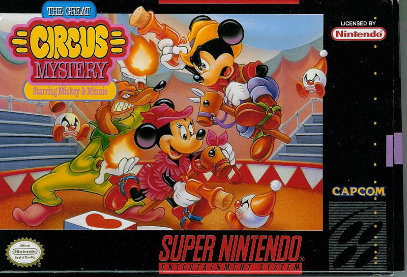 the great circus mystery starring mickey  minnie 1994