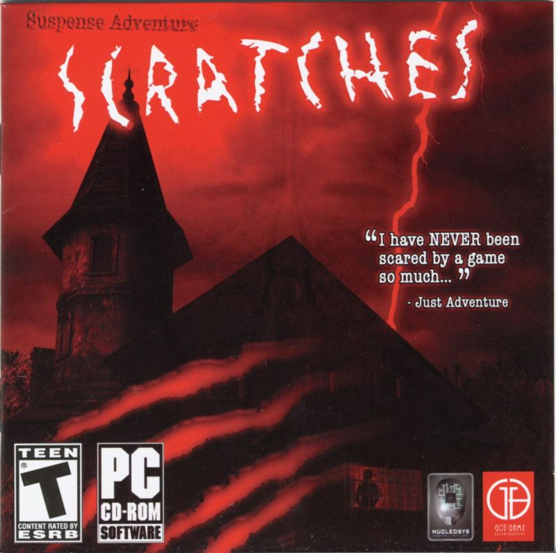 Scratches Windows Other Jewel Case - Front