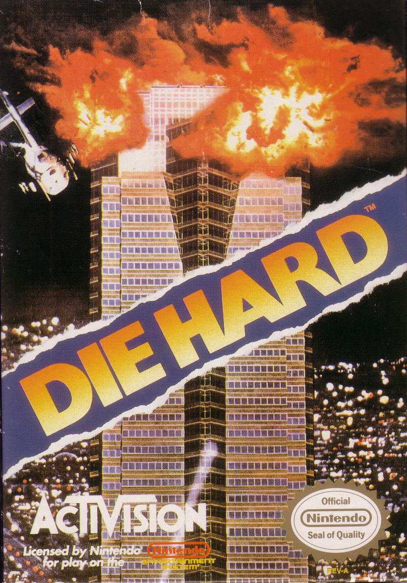 Die Hard NES Front Cover