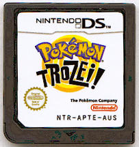 Pokémon Trozei! Nintendo DS Media