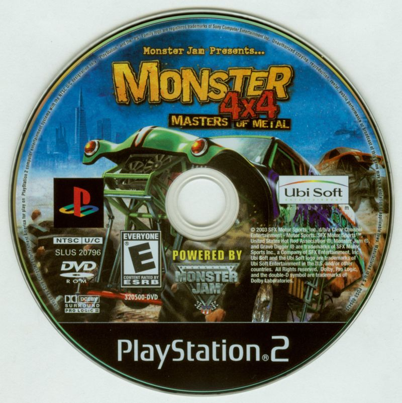Monster 4x4: Masters of Metal PlayStation 2 Media