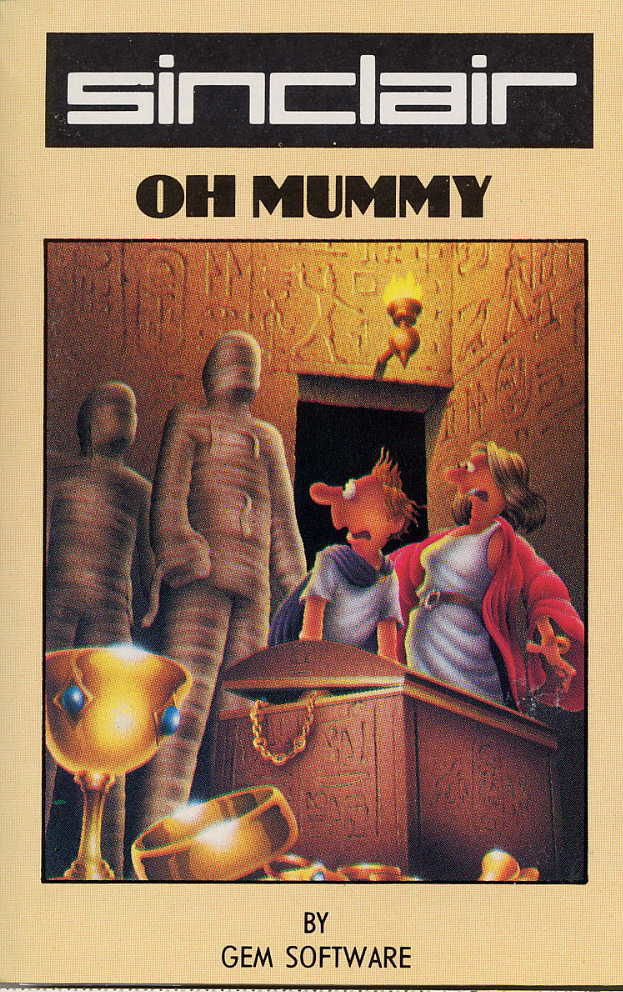 Oh Mummy ZX Spectrum Front Cover