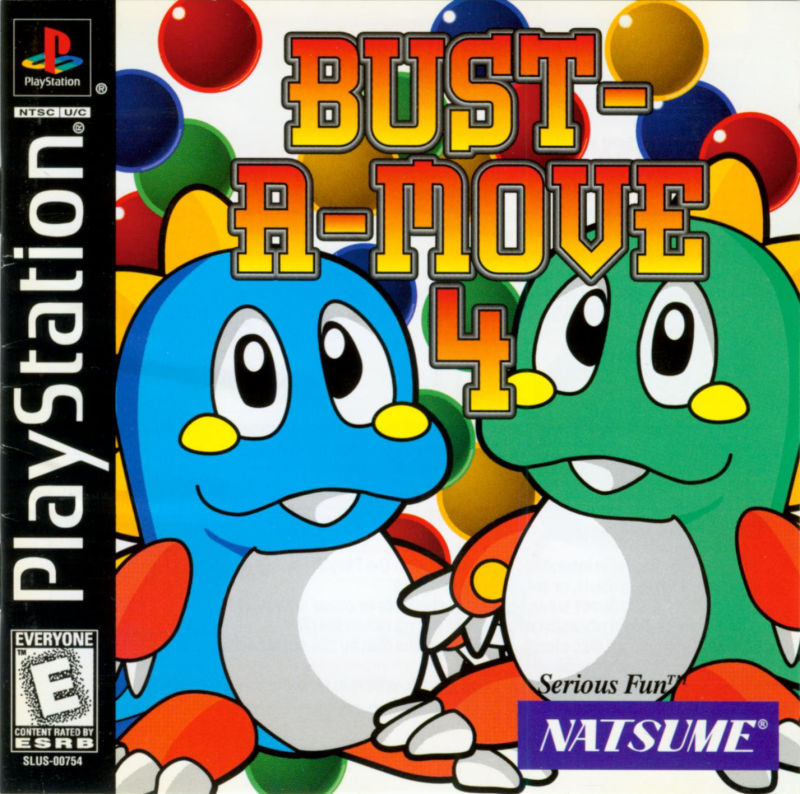 Bust-A-Move 4 PlayStation Front Cover