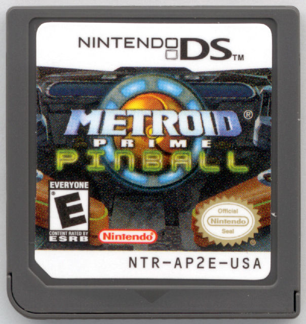 Metroid Prime Pinball Nintendo DS Media