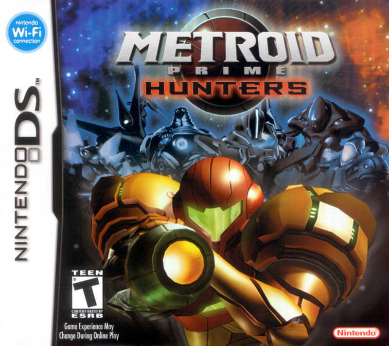 Metroid Prime: Hunters Nintendo DS Front Cover