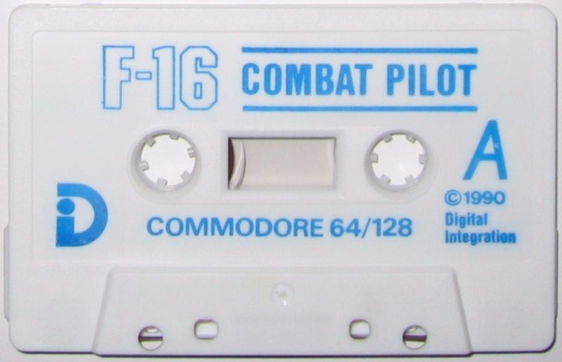 F-16 Combat Pilot Commodore 64 Media
