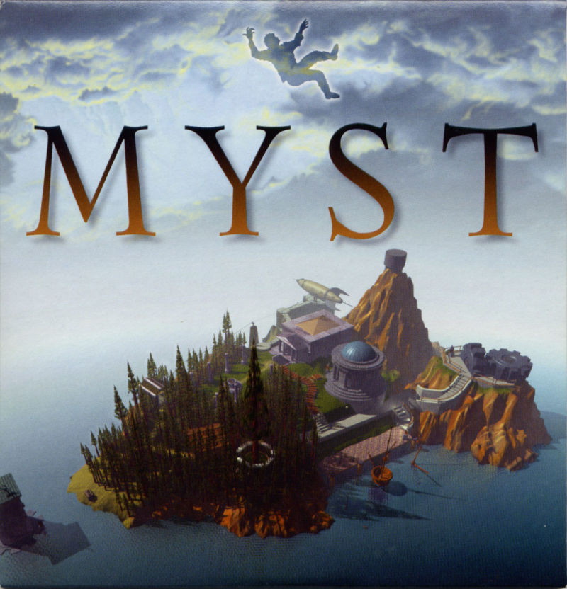 Ages of Myst Macintosh Other Slip Case - Front
