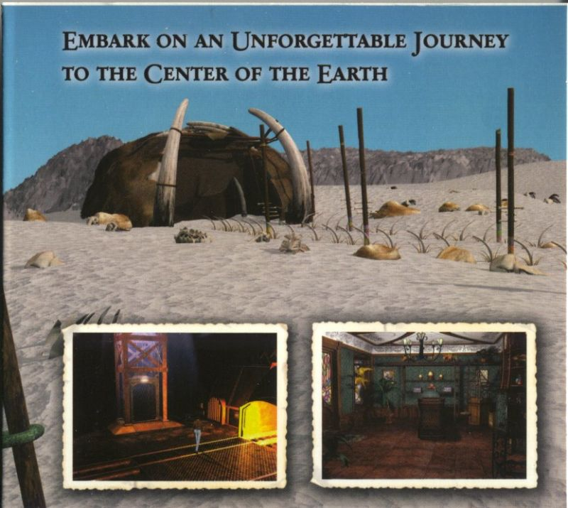 Journey to the Center of the Earth Windows Inside Cover Left Flap