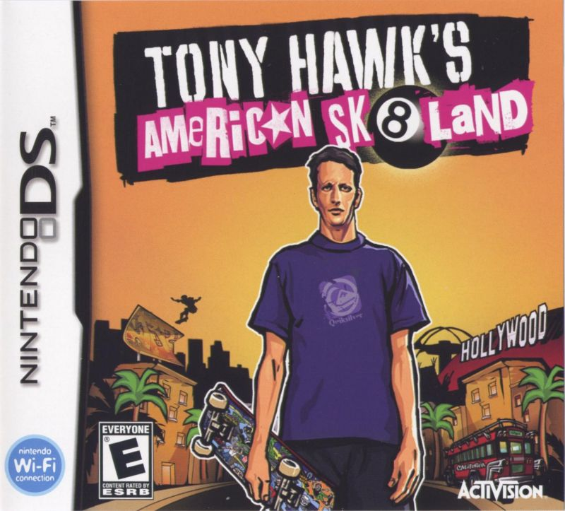 Tony Hawk's American Sk8land Nintendo DS Front Cover