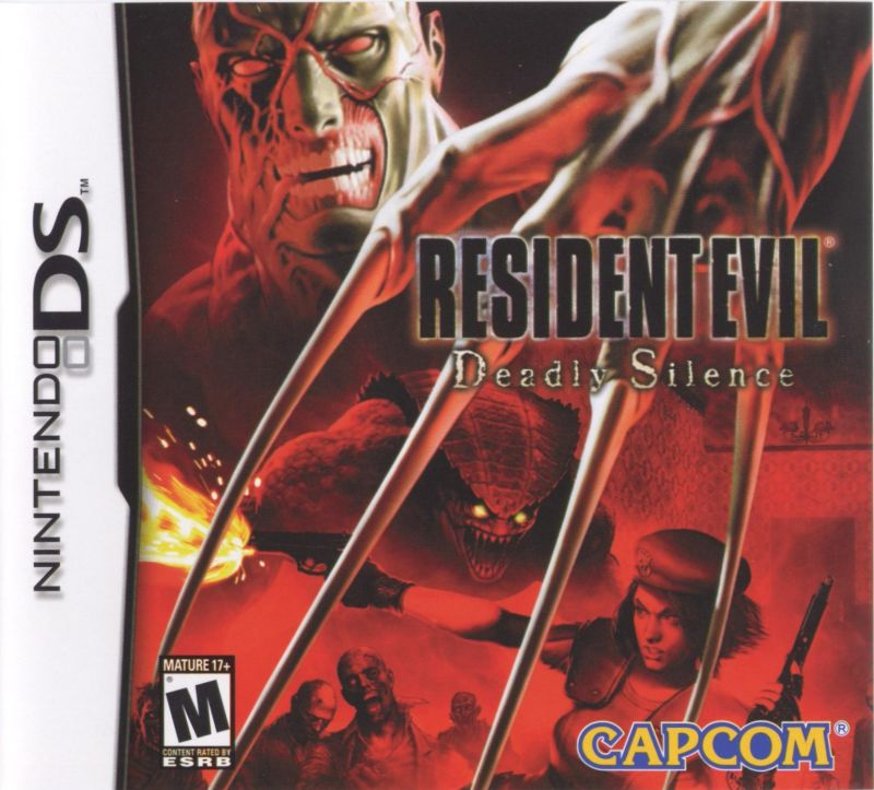 Resident Evil: Deadly Silence Nintendo DS Front Cover