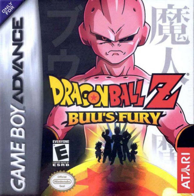 Dragon Ball Z: Buu's Fury Game Boy Advance Front Cover