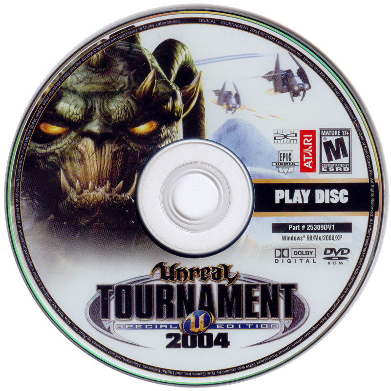 Unreal Tournament 2004 (DVD Special Edition) Windows Media Play Disc