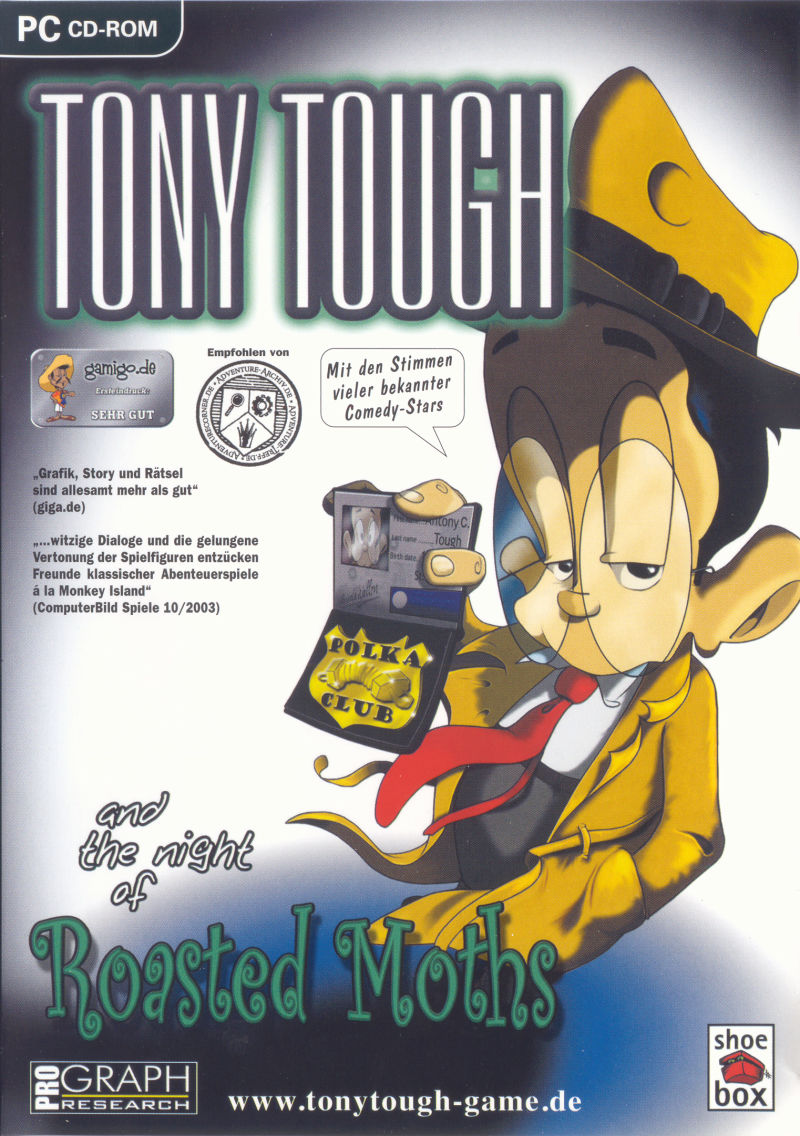 Tony Tough and the Night of Roasted Moths Windows Other Keep Case - Front