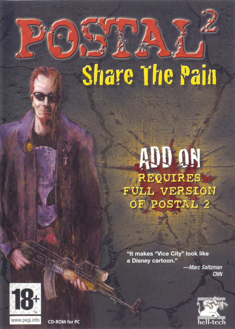 Postal²: Share the Pain Windows Front Cover