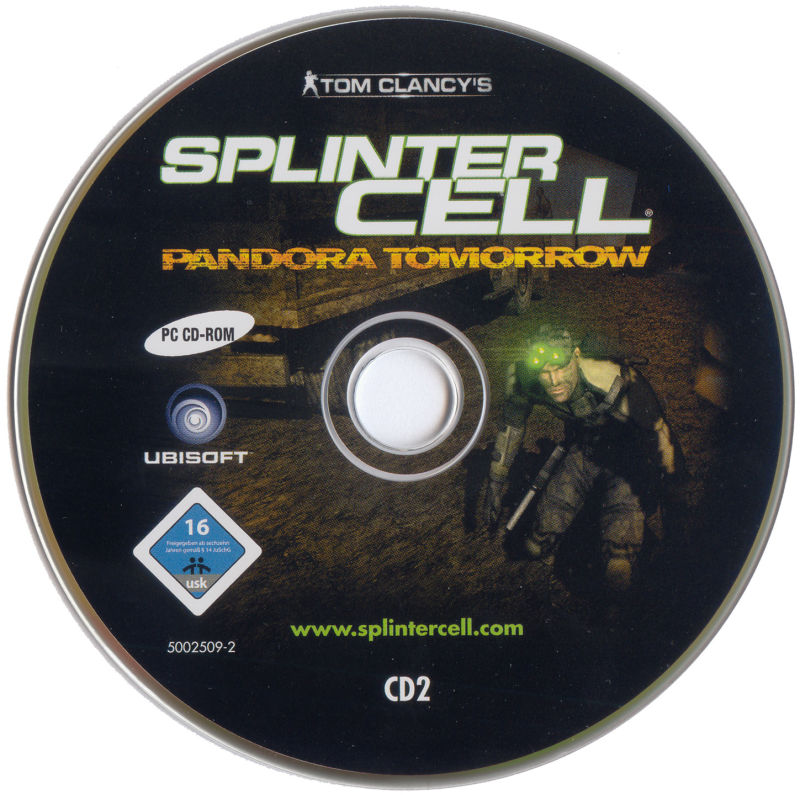 Tom Clancy's Splinter Cell: Pandora Tomorrow Windows Media Disc 2