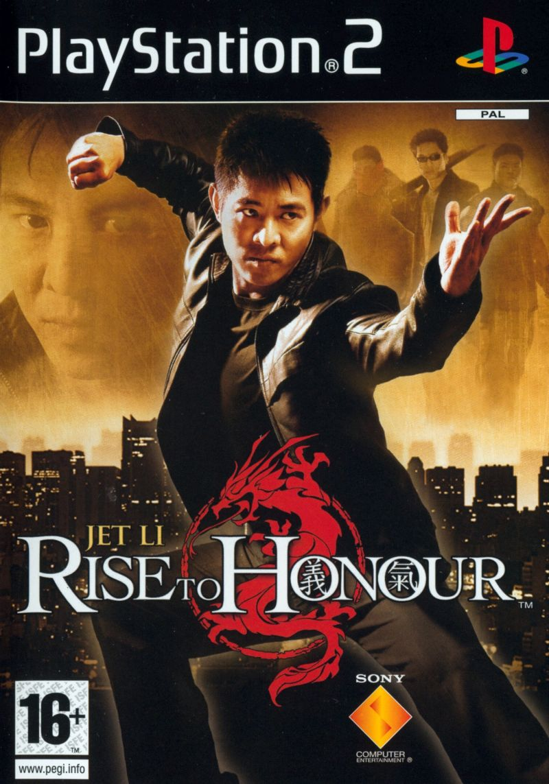 Rise to Honor PlayStation 2 Front Cover
