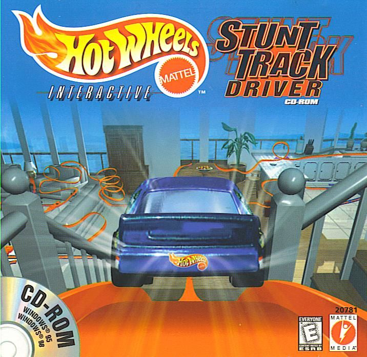Hot Wheels: Stunt Track Driver Windows Front Cover