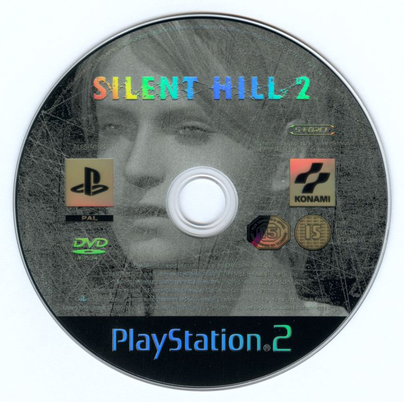 The Silent Hill Collection PlayStation 2 Media Silent Hill 2 disc