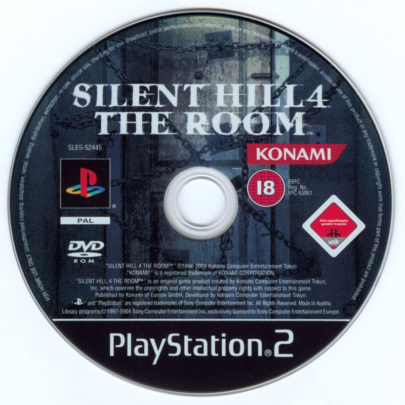 The Silent Hill Collection PlayStation 2 Media Silent Hill 4: The Room