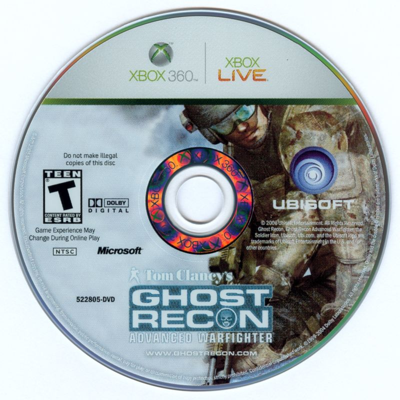 Tom Clancy's Ghost Recon: Advanced Warfighter Xbox 360 Media