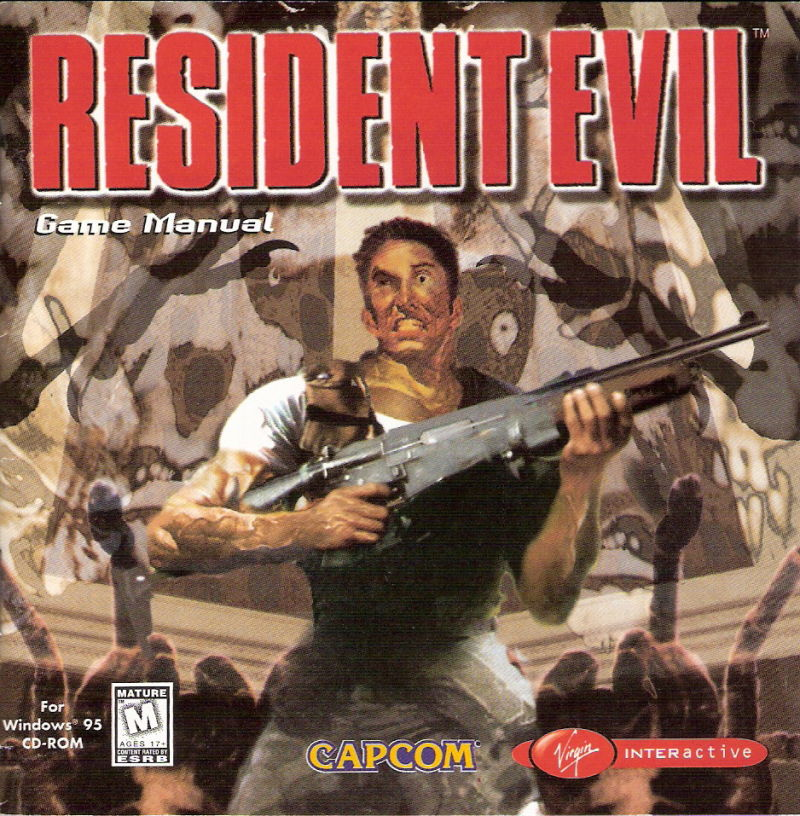 Resident Evil Windows Other Jewel Case - Front
