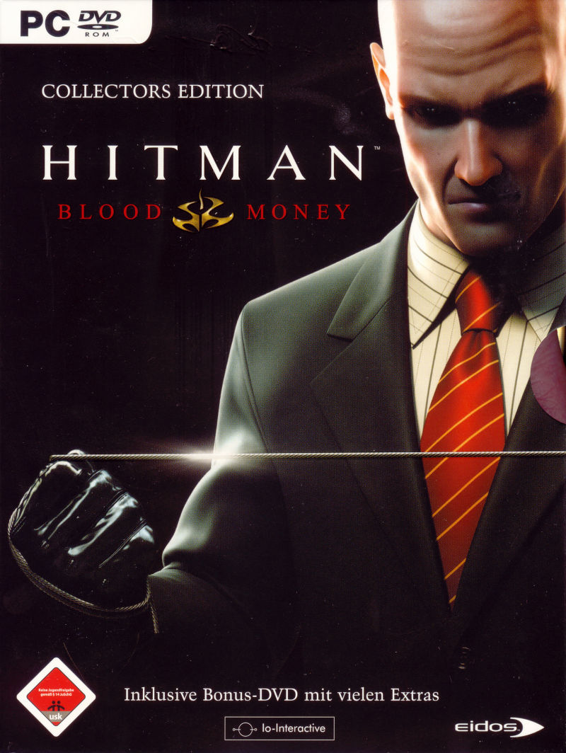 Hitman: Blood Money (Collector's Edition) Windows Front Cover