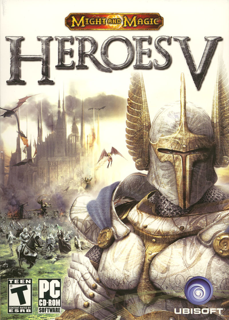 Heroes of Might and Magic V Windows Front Cover