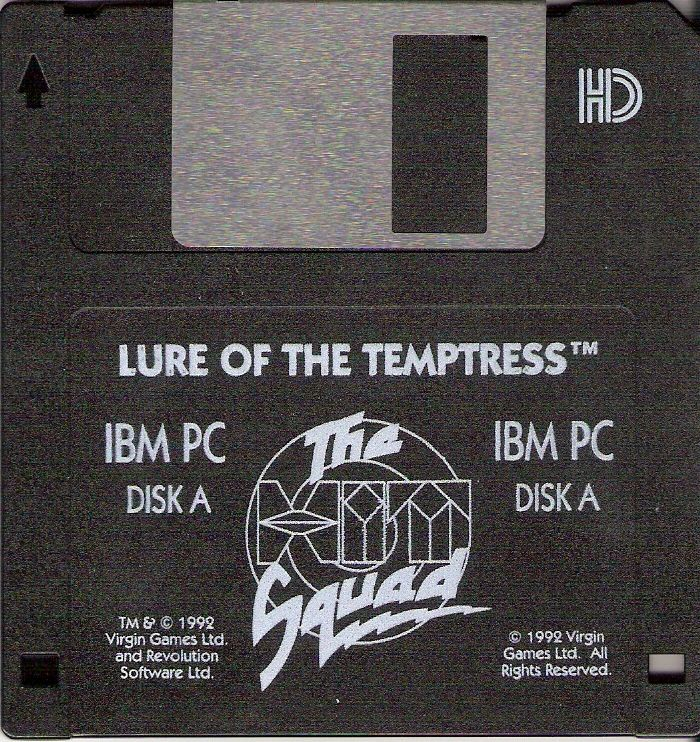 Lure of the Temptress DOS Media Disk 1/4