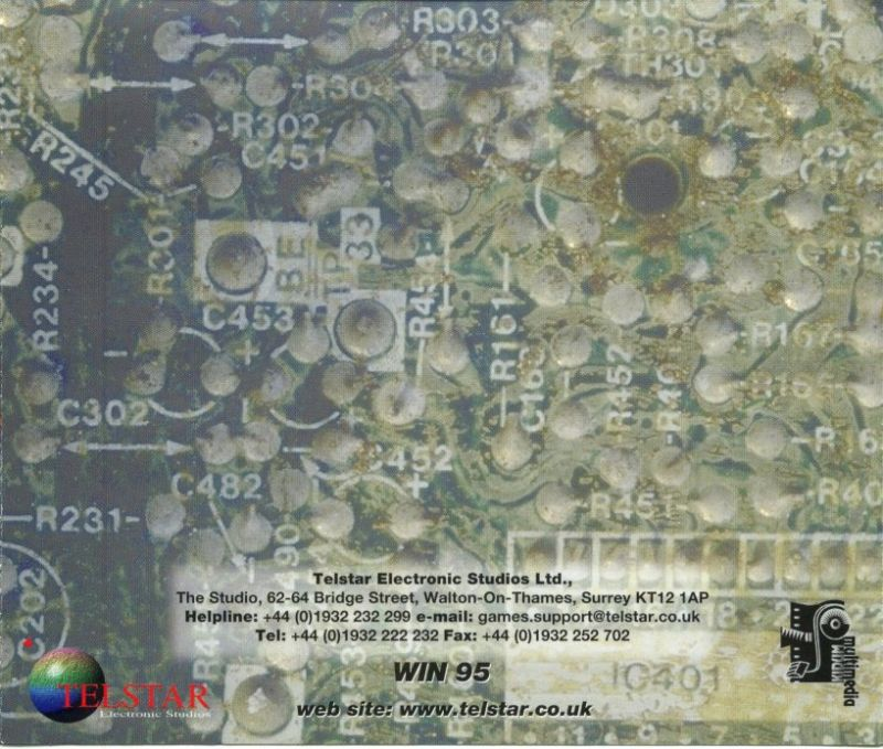 Virus: The Game Windows Other Jewel Case - Back